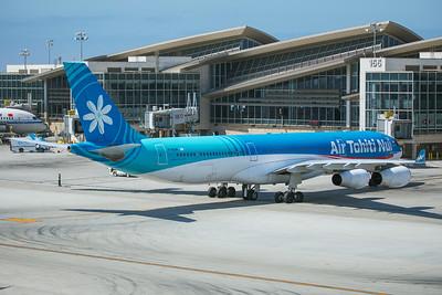 Air Tahiti Nui Airbus A340-313X F-OSUN 8-18-17 2