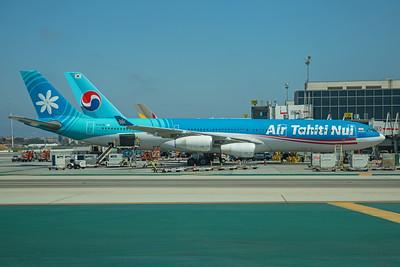 Air Tahiti Nui Airbus A340-313X F-OJTN 8-18-17