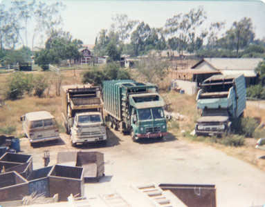 "A&B ""yard"" in the backyard of the Nazaroff home ca. 1960's"