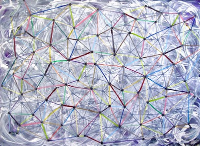 Interconnections-Iorillo, 66x96 on canvas