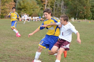 AB Boys JV Soccer vs Westford