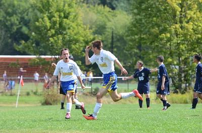 AB Boys JV Soccer vs Peabody