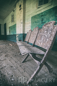 Abandoned Elementary School - Chairs