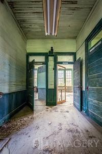 Abandoned Elementary School - Doorways