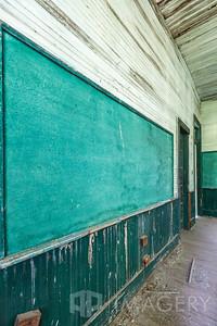 Abandoned Elementary School - Chalkboard