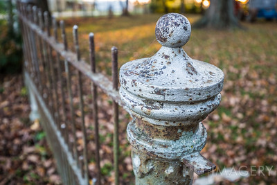 The Holt House - Fence Post