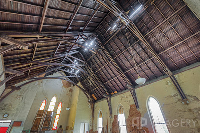 Trinity AME Zion - Ceiling