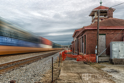Train Passing By