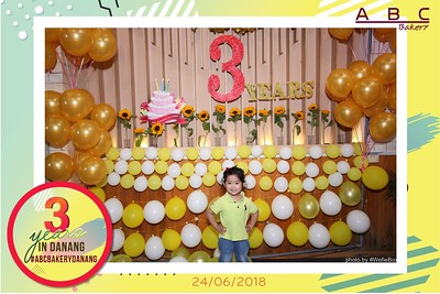 ABC Bakery - 3rd Anniversary in Da Nang Photo Booth