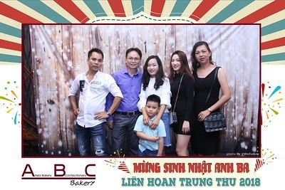 ABC Bakery - Happy birthday Anh Ba Kao Sieu Luc - Chụp hình in ảnh lấy li�n Tiệc Sinh Nhật tại Windsor Plaza Hồ Chí Minh