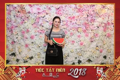 ABC Bakery Year End Party 2018 instant print photobooth - Chụp hình lấy liền Tiệc Tất niên Bánh Kẹo Á Châu tại Windsor Plaza TP. HCM