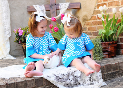 ABIGAIL AND ELLA JO - EASTER