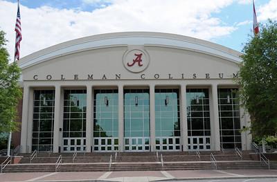 Coleman Coliseum exterior