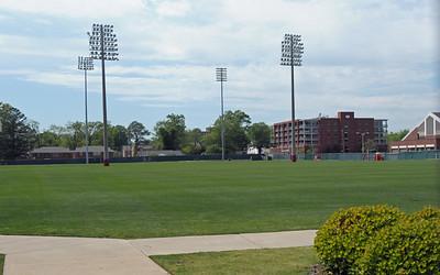 Alabama football practice fields