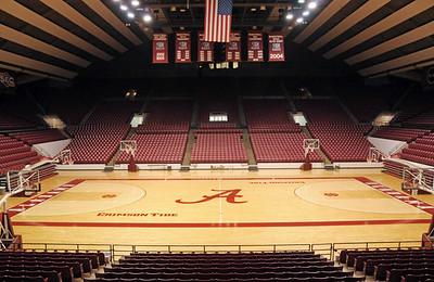 Coleman Coliseum interior