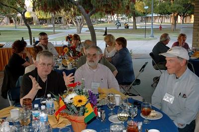Campus pavilion dinner