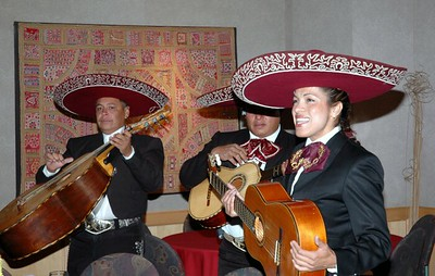 Campus Mexican dinner Mariachi band 01