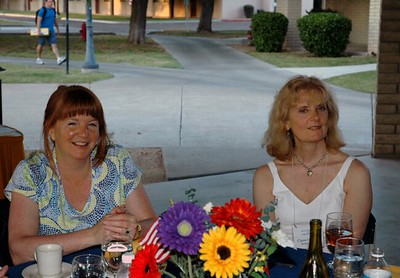 Campus pavilion dinner Karen Claire