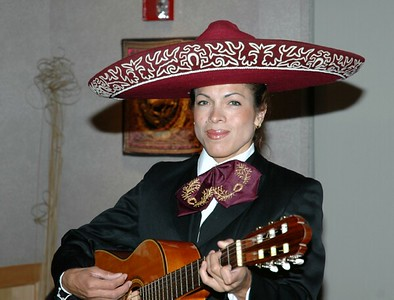 Campus Mexican dinner Mariachi band 07