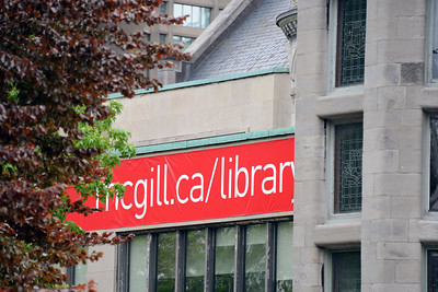 McGill campus library