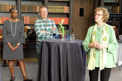 UW library director Betsy Wilson
