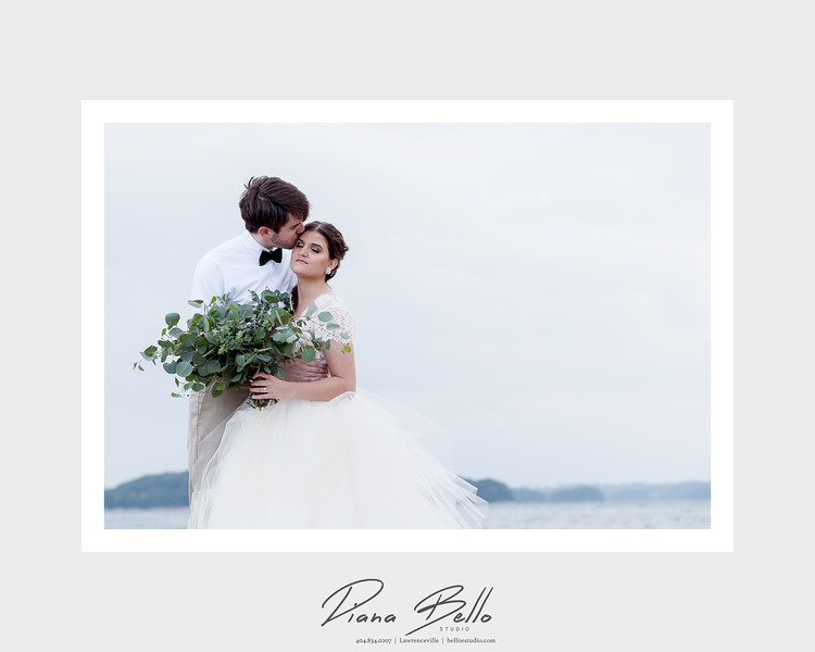 Framed Image | Lake Lanier Inspirational Wedding-2