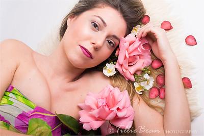 Tania. Makeup by Marta Jones