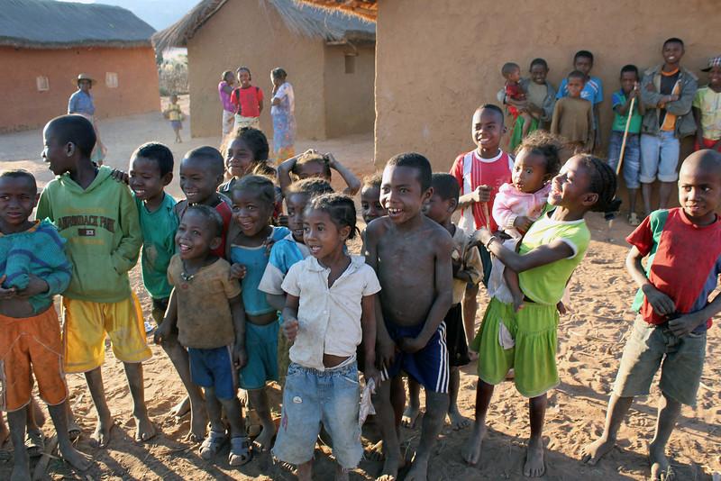 Malagasy Village Children