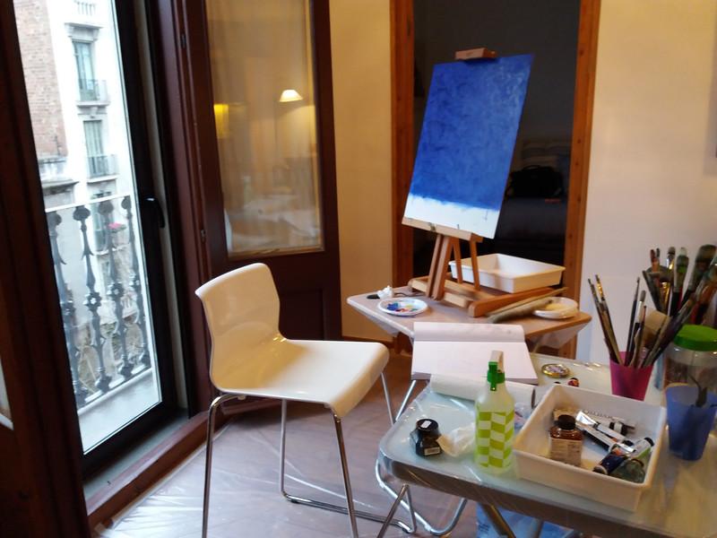 Painting Start / Barcelona