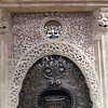 Intricately Carved Fireplace, Barcelona, Spain