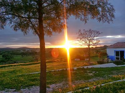 Sunset at OBRAS