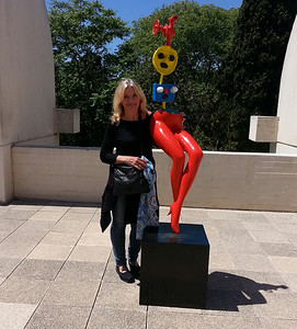 On the Patio, Miro Foundation