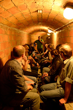 In the Bomb Shelter, Gracia, Barcelona