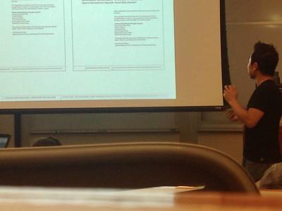 Speech at Georgetown University on September 16, 2014
