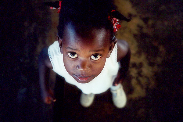 Vivian. A child in Uganda.