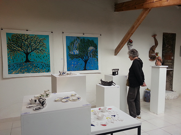 Paintings in Exhibition, Vallauris