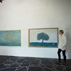 Alentejo V and IV: Morning Tree and Blue Tree