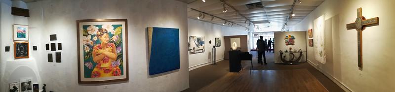 Women Make Art show at Studio 107B