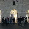 Outside Galerie Le Logge, Assisi