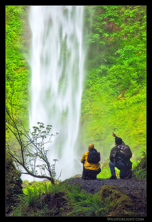 Leading a private tour/workshop in the awesome Columbia River Gorge.