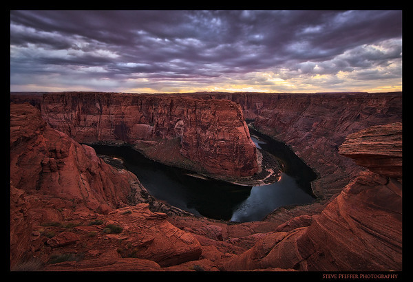 """""""Sunrise at the Bend"""" during the """"4 Bends in 4 days"""" workshop. Photo by client Steve Pfeffer."""