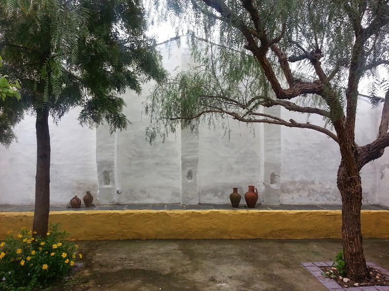 Courtyard at OBRAS
