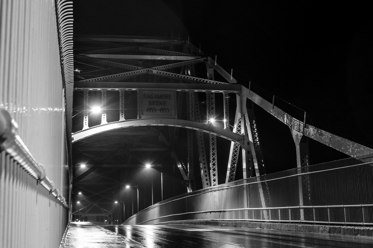 Rainy Sagamore Bridge