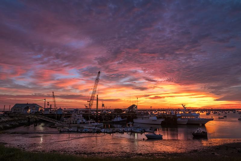Plymouth Wharf Sunrise