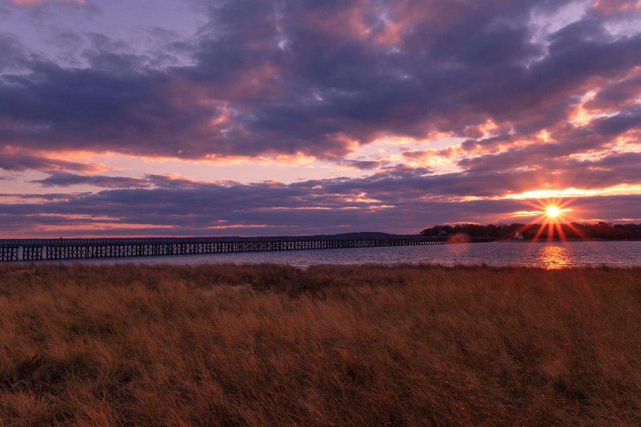 Powder Point Bridge Sundown