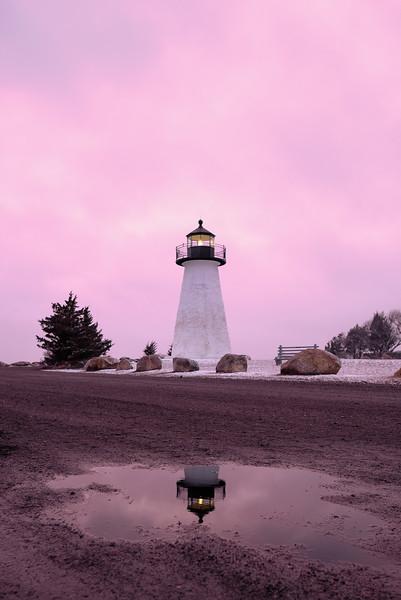 Pink Lighthouse.
