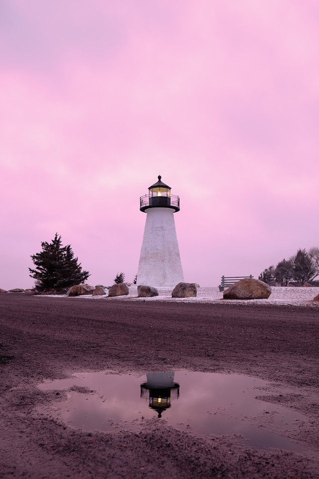 Pink Lighthouse.