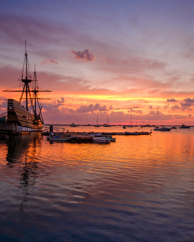 Mayflower II Sunrise