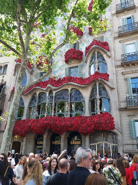 Gaudí Casa Batlló, Barcelona, Spain