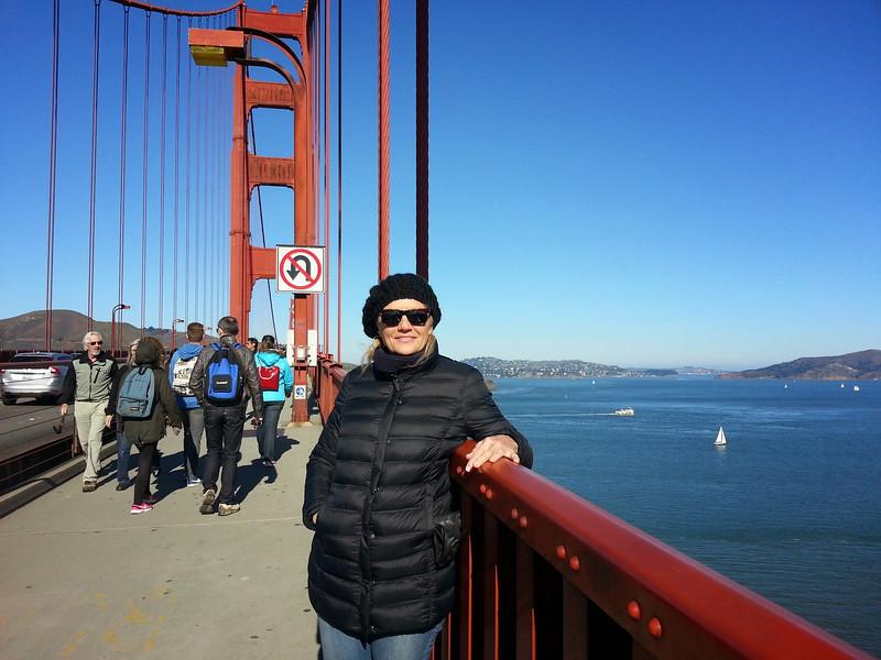 Golden Gate Bridge, San Francisco, CA, 2015